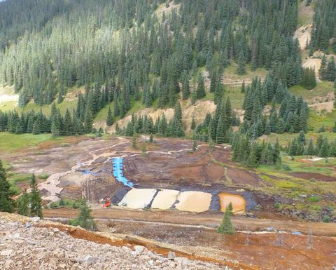 EPA installs barrier system at Gold King