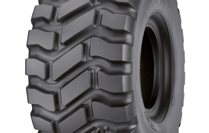 New Goodyear-Volvo tyre