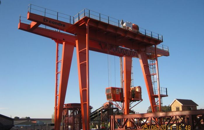 Condra portal cranes to speed things up for Oyu Tolgoi