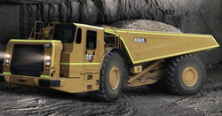 Caterpillar launches AD45 underground truck