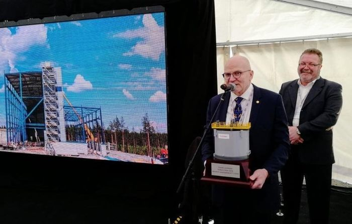 Sotkamo Silver opens Finland's first silver mine