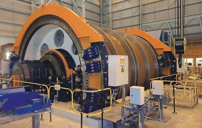 New winder for Mopani copper