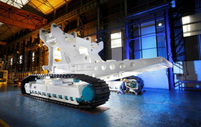 SMD begins assembly of auxiliary cutter