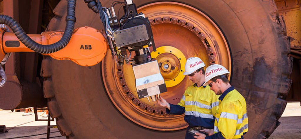 First funding for Rio Tinto's smart mine