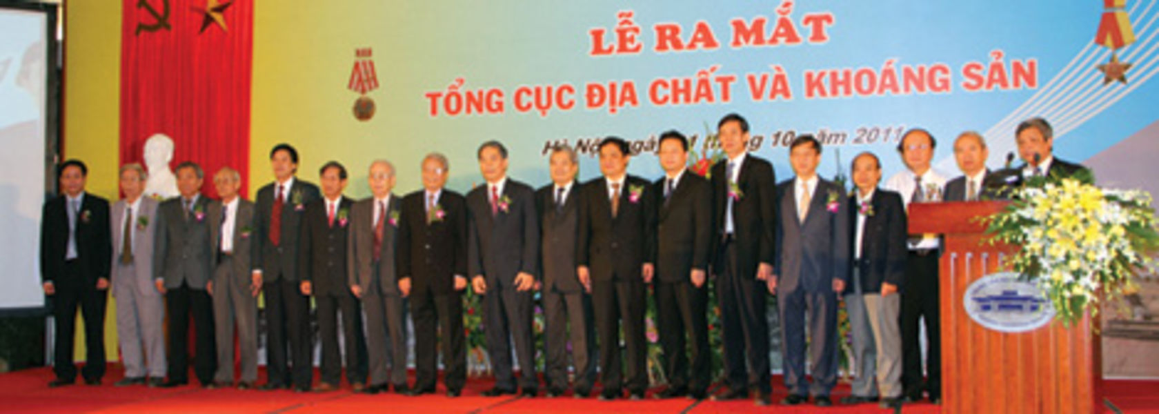 Vietnam founds geology and minerals dept