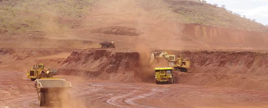 Autonomous truck collision at Fortescue's Christmas Creek