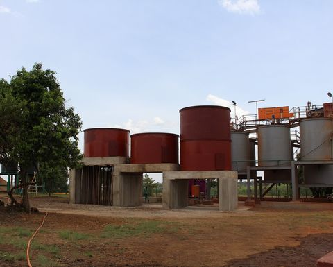 Stage Two of Kilimapesa plant completed