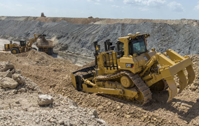 New features for Cat D9T dozer