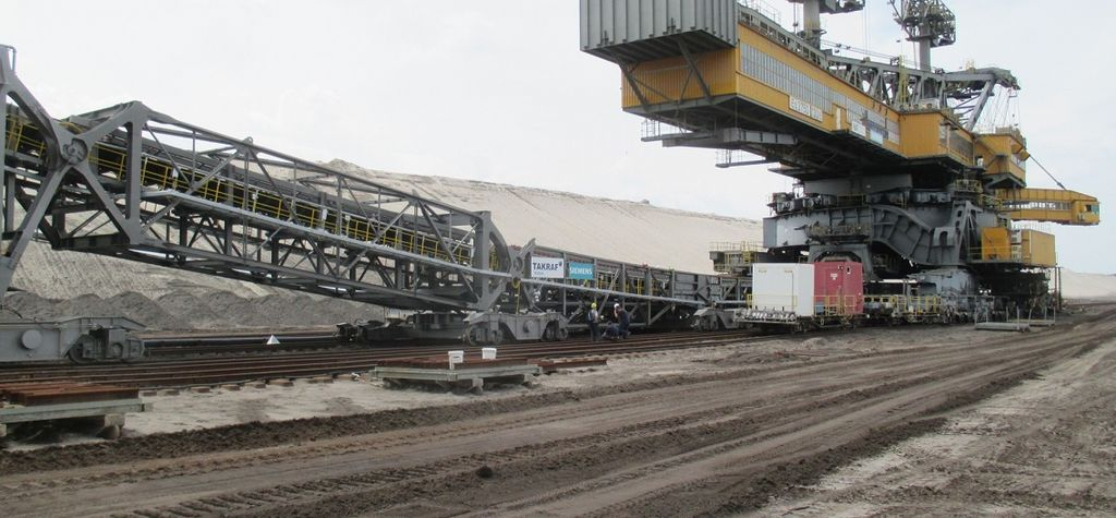 Takraf delivers conveyor system