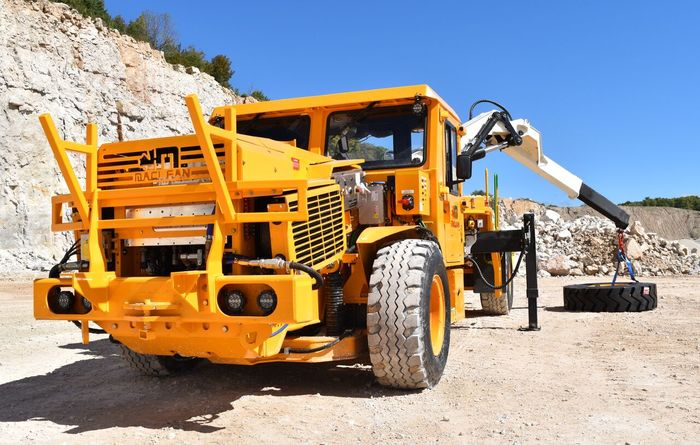 Battery electric vehicle (BEV) material haulage in underground mining