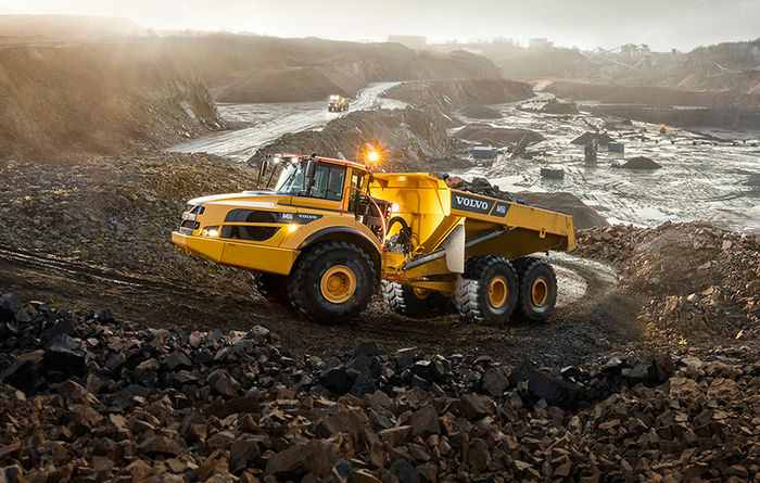 Volvo A45G Articulated Hauler