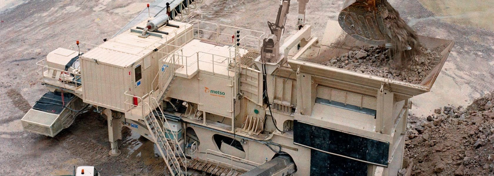 Metso introduces integrated in-the-pit solutions