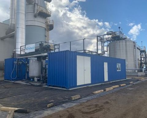 Second MGX treatment system completed in Alberta