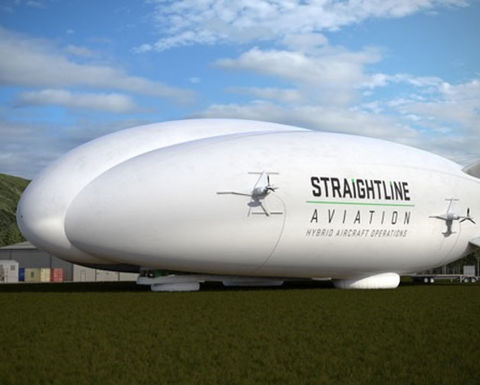 First Hybrid Airships head to Canada