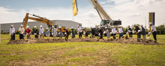 Liebherr USA breaks ground at new headquarters
