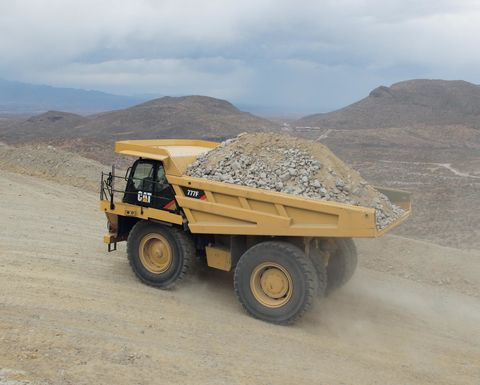 Mining truck market to pick up