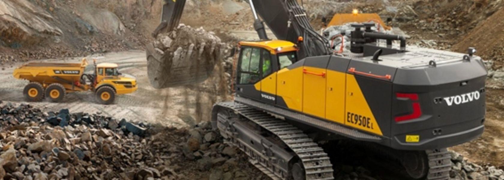 Volvo launches EC950E crawler excavator - Mining Magazine