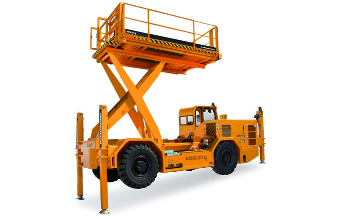 Putzmeister launches new scissor lift platform