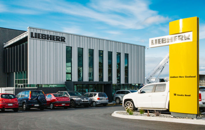 Liebherr opens new NZ centre