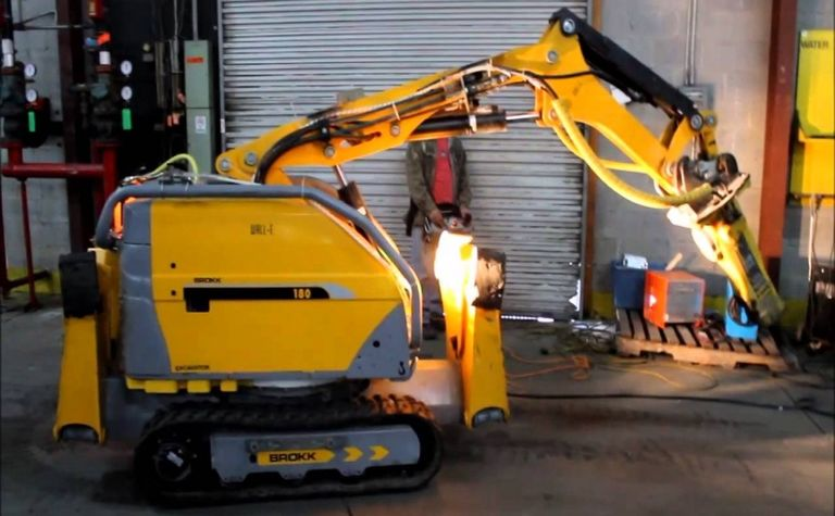 Brokk launches explosion-protected robots