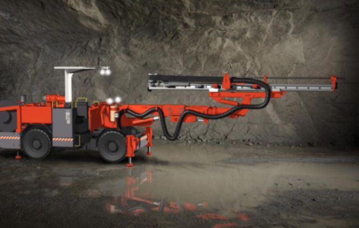 Sandvik DD2710 debuts in China