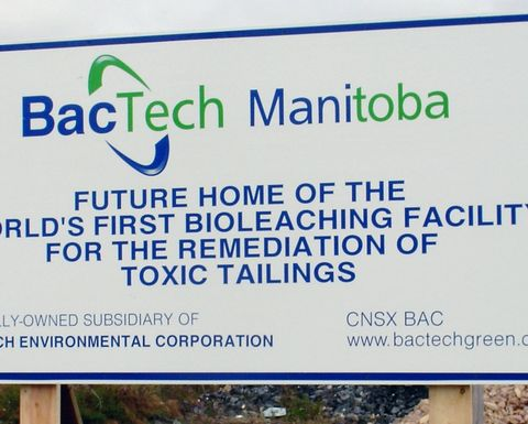BacTech takes bioleach tech to Snow Lake