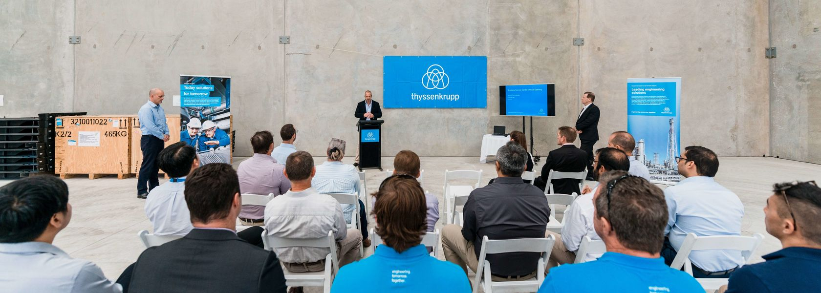 Brisbane becomes newest thyssenkrupp home