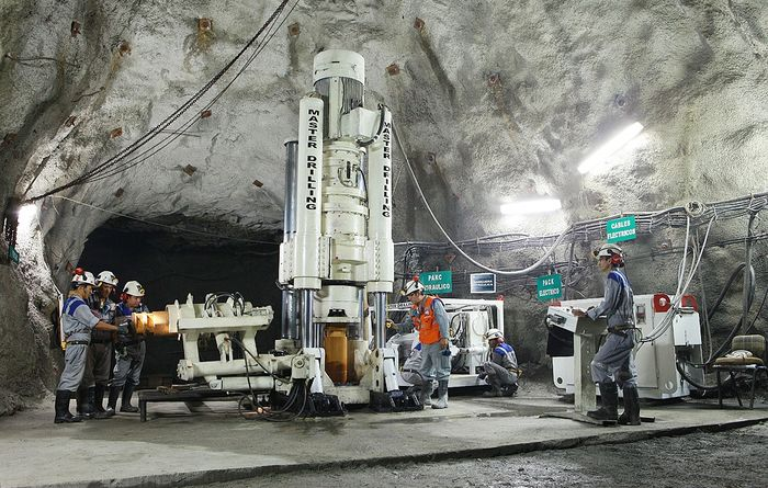 Master Drilling to bore record shaft