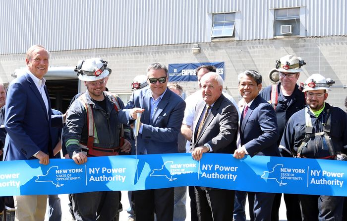 The Empire State mine officially opened June 12
