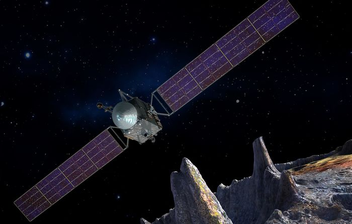Barrick mines space knowledge