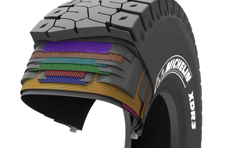New surface mine tyre from Michelin