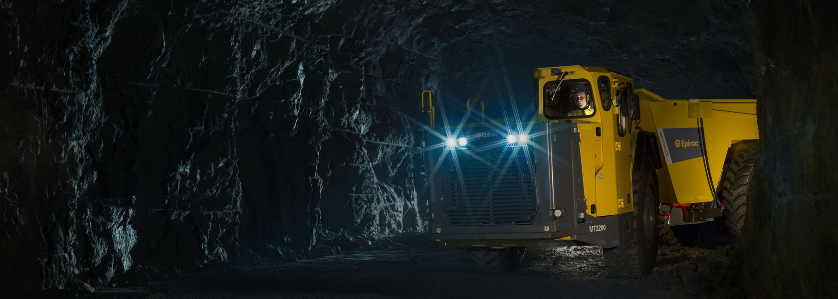 New high-capacity Minetruck MT2200 from Epiroc