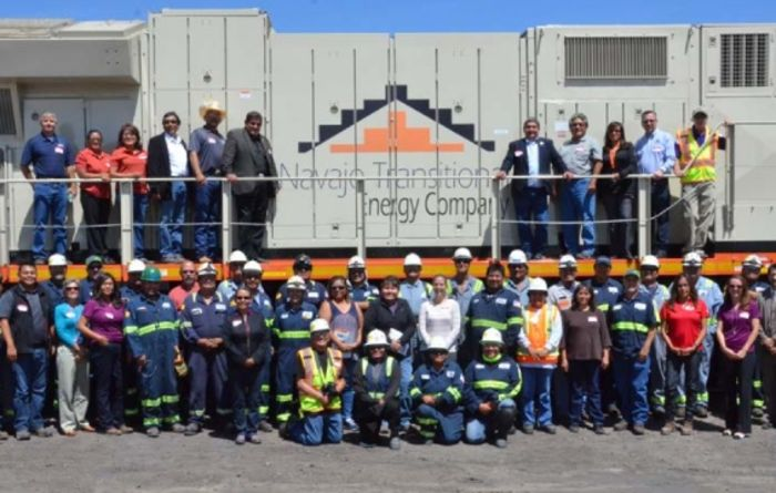 Full steam ahead for Navajo with locomotive delivery