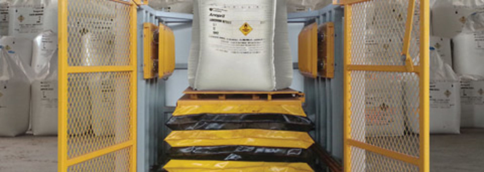 New Flexicon bulk bag conditioner