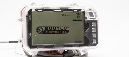 Booyco Electronics' TTM's control unit indicates when the vehicle needs to slow down or stop using audio visual displays