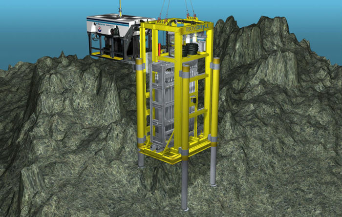 Deep-sea mine to leave less impact than land counterparts