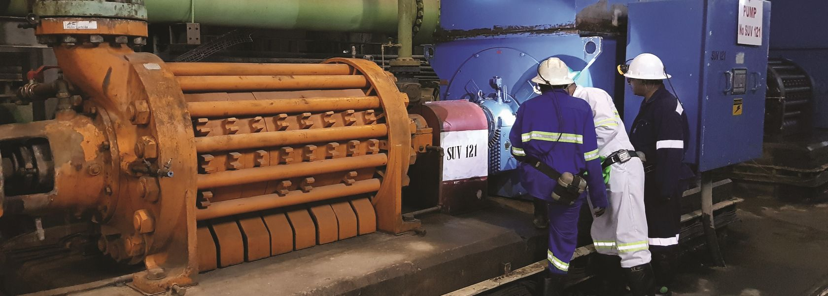 Marthinusen & Coutts rehabilitates motor at Zambian mine