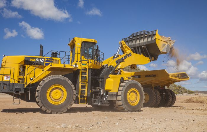Komatsu promises productivity boost with new wheel loader