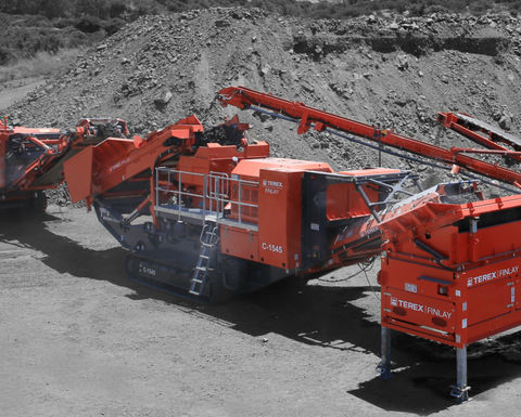 Terex launches mobile cone crusher