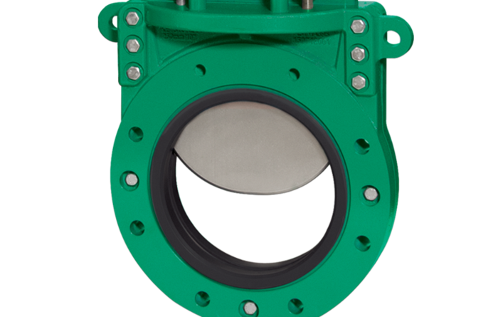 New Emerson knife gate valve