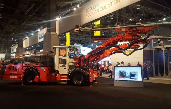 New Sandvik drill rigs, GETs and AutoMine