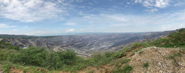 Cerrejn in olombia is the largest openpit coal mine in atin merica and the 10th biggest in the world