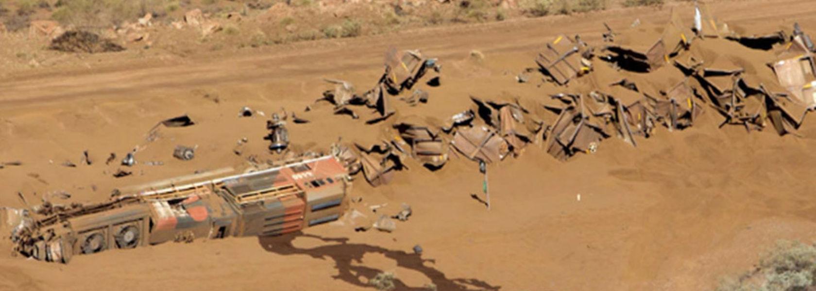 BHP train crash driver dismissed - Mining Magazine