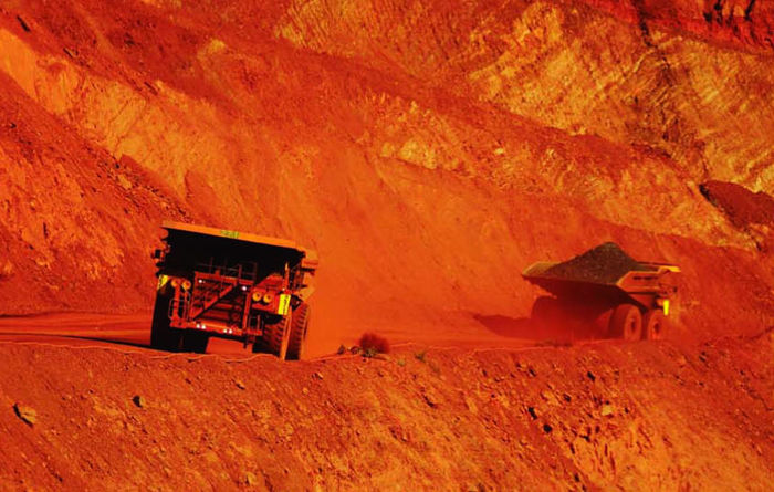 Fluor books BHP iron ore contract