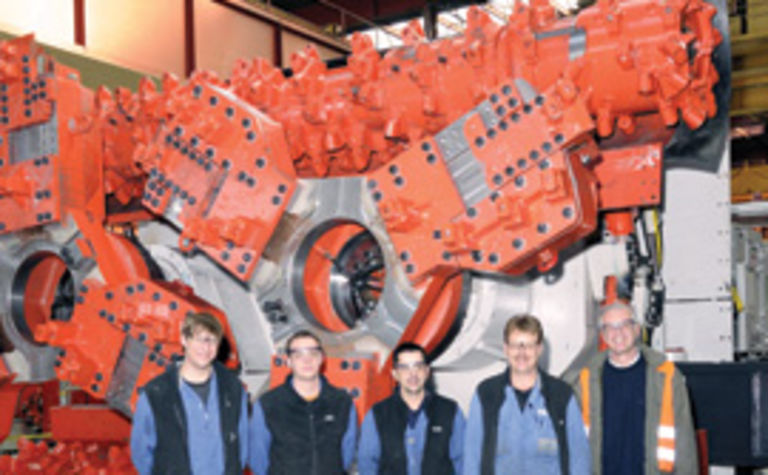 Sandvik signs Jansen design deal