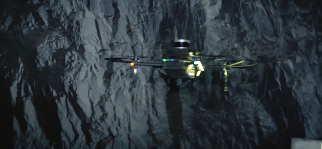 Exyn takes part in SubT challenge with autonomous software, drone