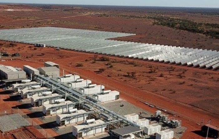 Renewable power station opened at Agnew