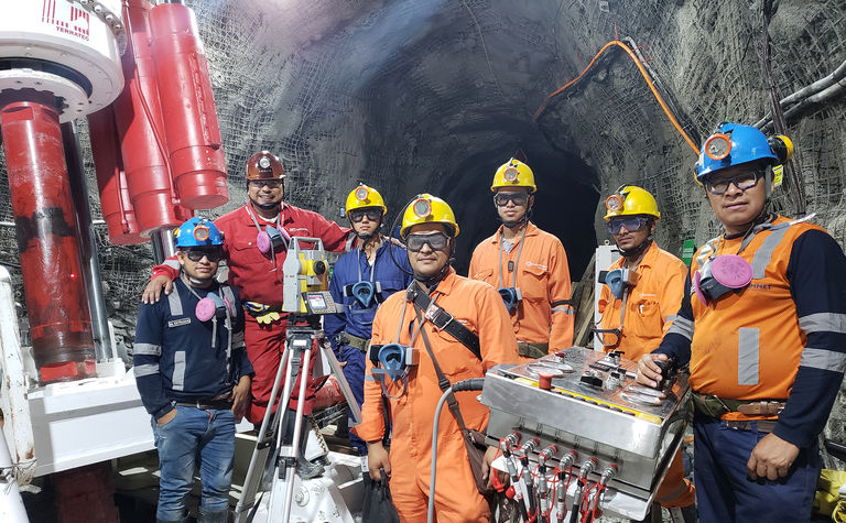Terratec RBM completes first shaft at Buriticá