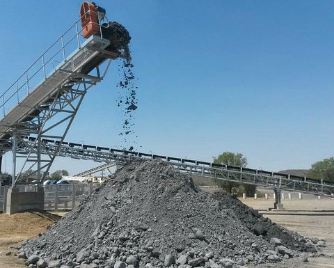 Lace mine's conveyor belt commissioned