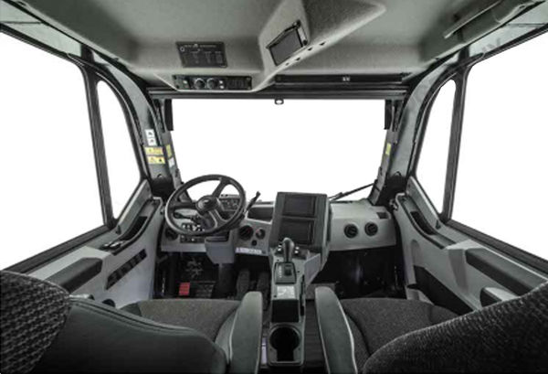 he cab of the new at 777 offhighway truck